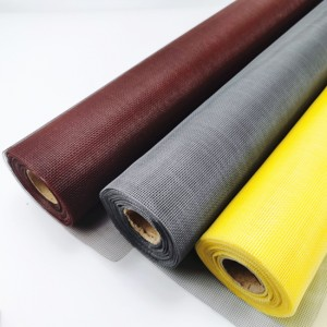 3ft x 30m Grey fiberglass window insect screen