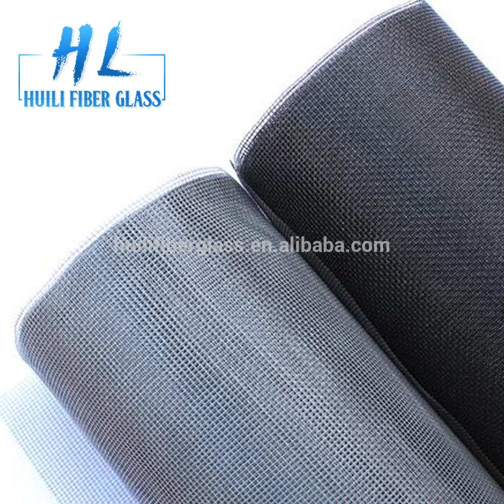 Fire resistant fiberglass fly mesh /120g 18*16 fiberglass window screen Featured Image