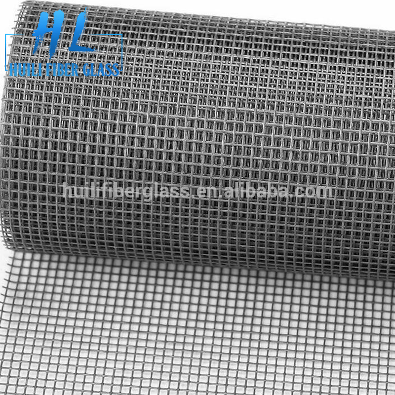 Fire resistant fiberglass fly mesh /120g 18*16 fiberglass window screen