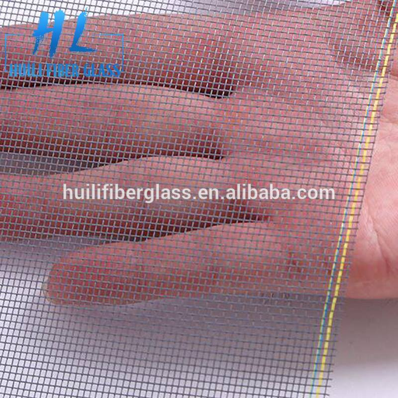 Fire resistant fiberglass plisse bug or insect screen wire mesh