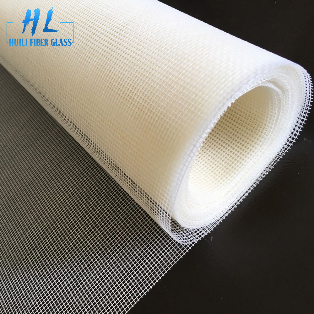 Reasonable price Fiberglass Mesh Cloth Manufacturers - flexible white color fiberglass window insect screen – Huili fiberglass