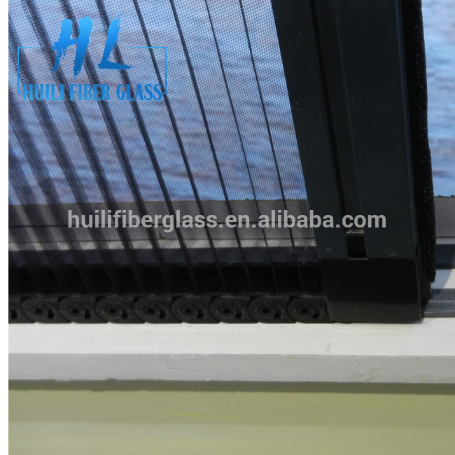 folding mesh Polyester Plisse Insect Screen/pp+pe insect screen