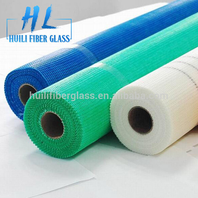 Glass fiber mesh fabric alkali resistant fiberglass mesh made in China factory
