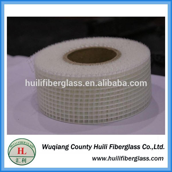 glass fiber self-adhesive tape/self-adhesive fibreglass mesh tape 2.5mm*2.5mm