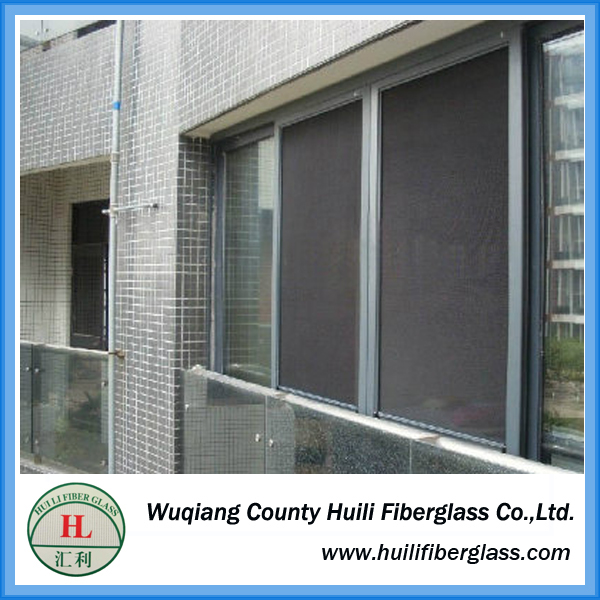 glass fiber stealth window screening Retractable Pleated Insect Screen