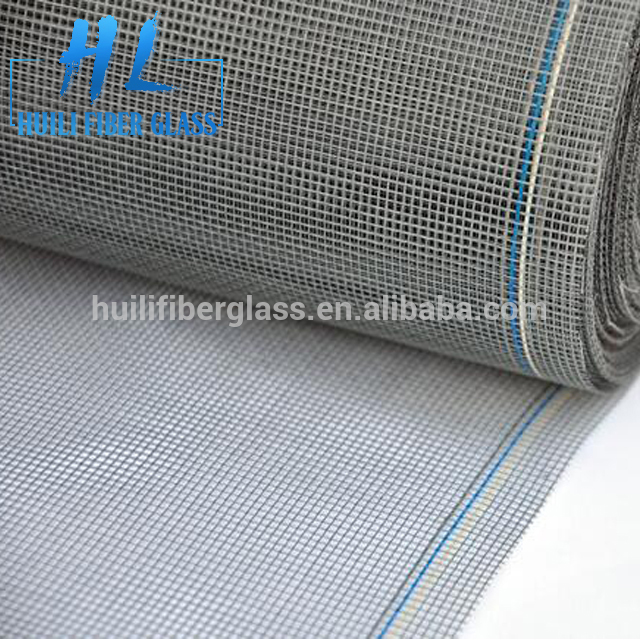 Good Quality 18×16 PVC Coated Fiberglass Insect Window Screen with factory price