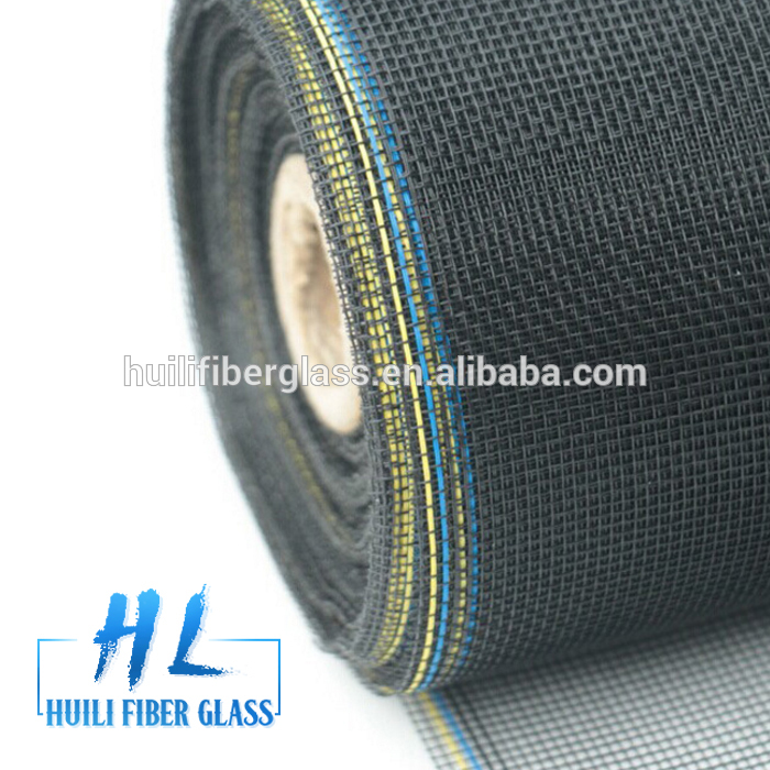 Grey/black Fiberglass Insect Screen & Windows Screen 20*20 mesh