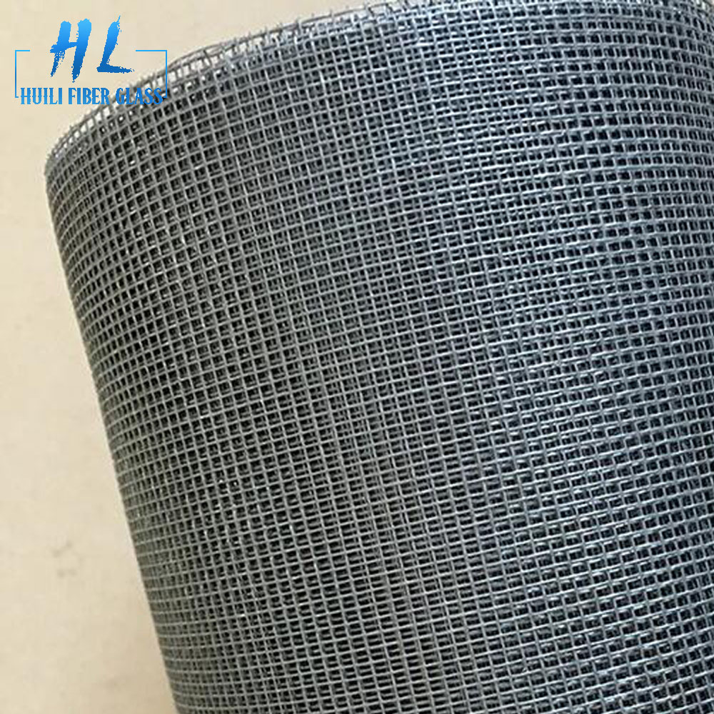 grey color 110g fiberglass screen netting