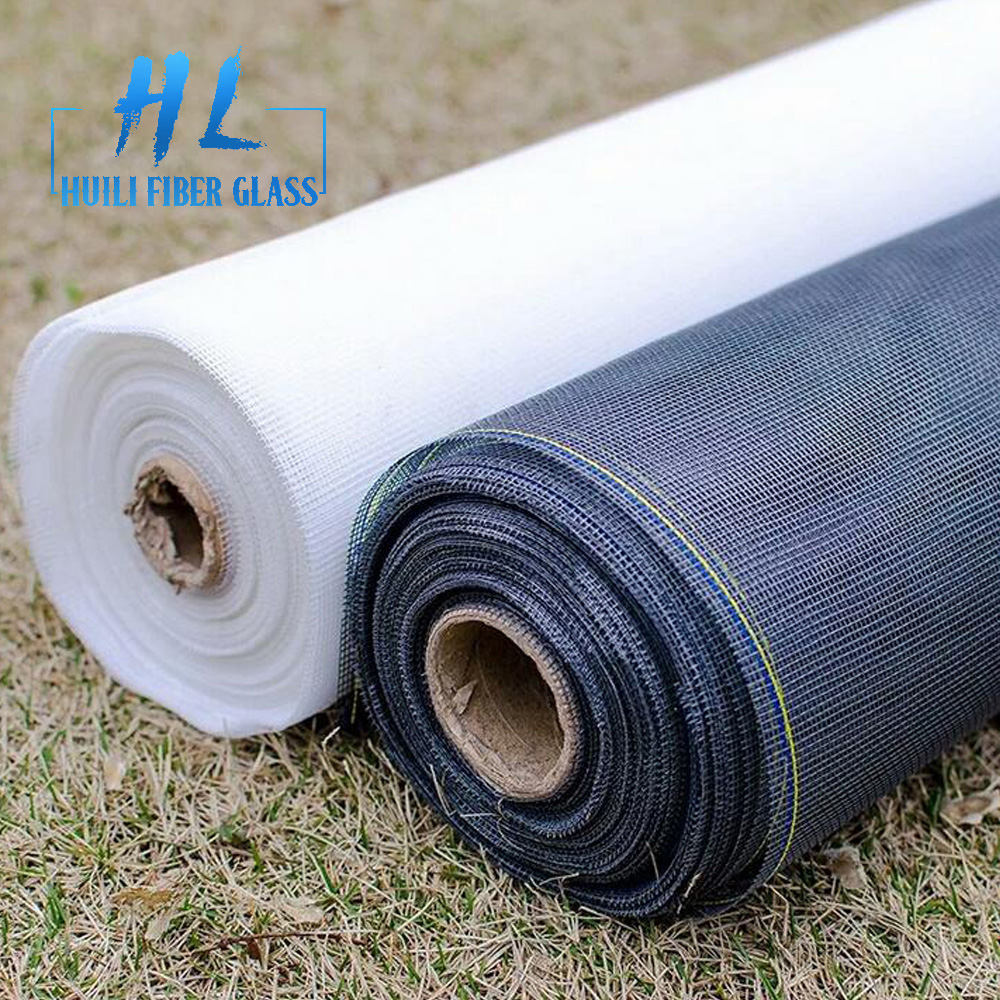 Grey Color Fiberglass Window Screen Net for Anti Mosquito and Insect Screen Mesh