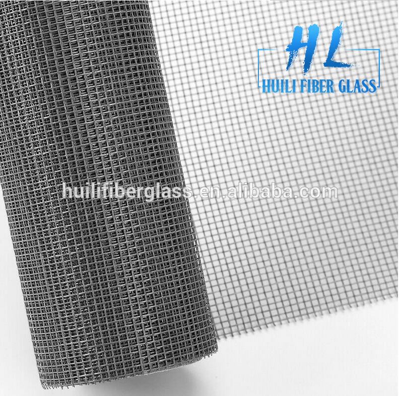Grey fiberglass fly screen window screen/insect screen