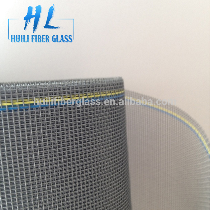 Grey green color Factory direct sale fiberglass insect screen/window screenin