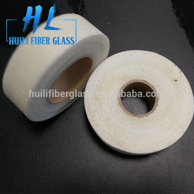 Heat resistant silicone fiberglass cloth self-adhesive mesh tape