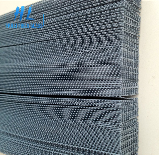 high quality fiberglass pleated insect screen/plisse window screening/Floding screen