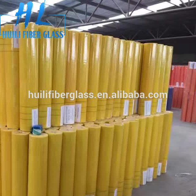 High quality of C-glass fiberglass mesh coated by alkali-resistant glue