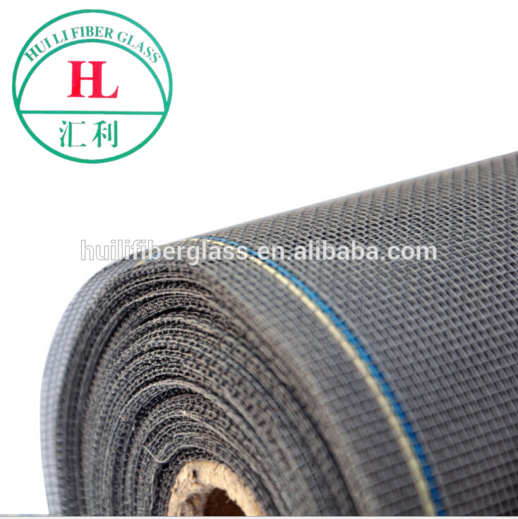 high tensile strength black fiberglass insect screen