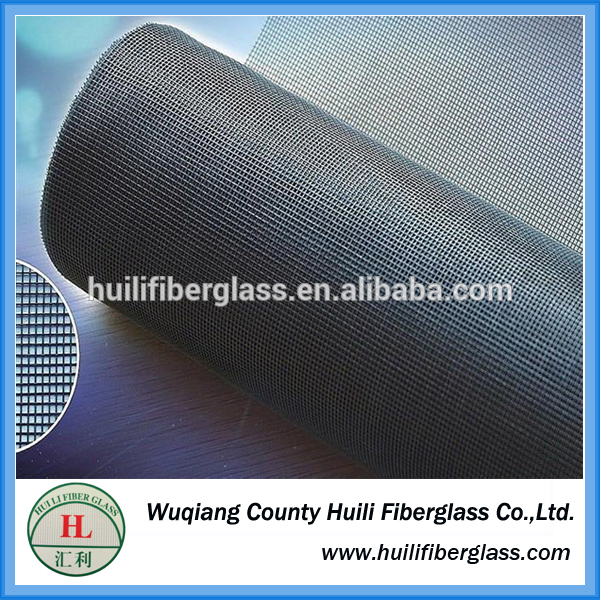 HUILI 17*14 fiberglass window screen /insect netting/fly mesh/phifer supplier
