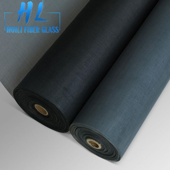Huili Brand 2018 hot sale 18X16mesh Insect Fiberglass Window Screen