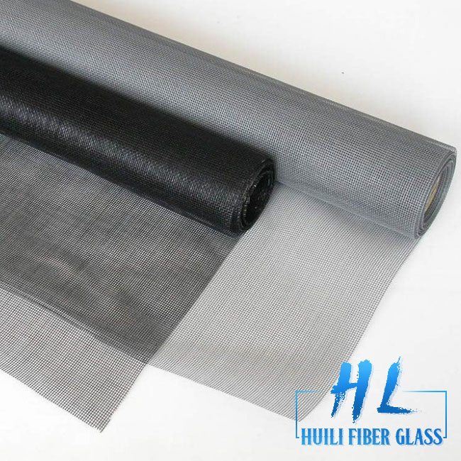 Huili Brand Green color fiber glass mosquito nets for window / insect screen mesh