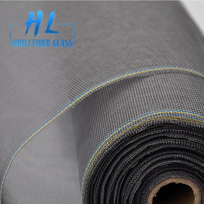 Huili Brand PVC coated Fireproof Fiberglass insect screen/ fiberglass window screen/ fiberglass mosquito net
