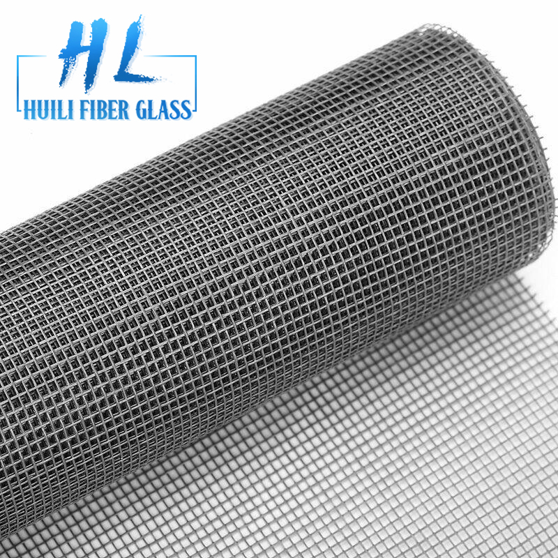 HuiLi charcoal 18*14 fiberglass window screen to US market