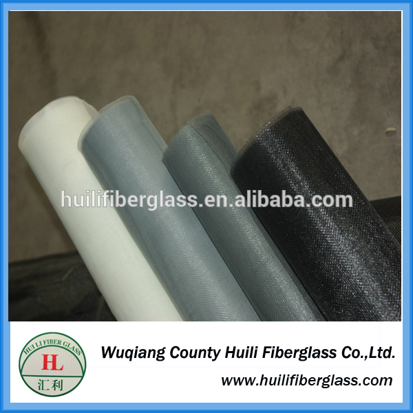 Huili cheap fiberglass fly mesh/ fiber glass roller insect screen/window screen