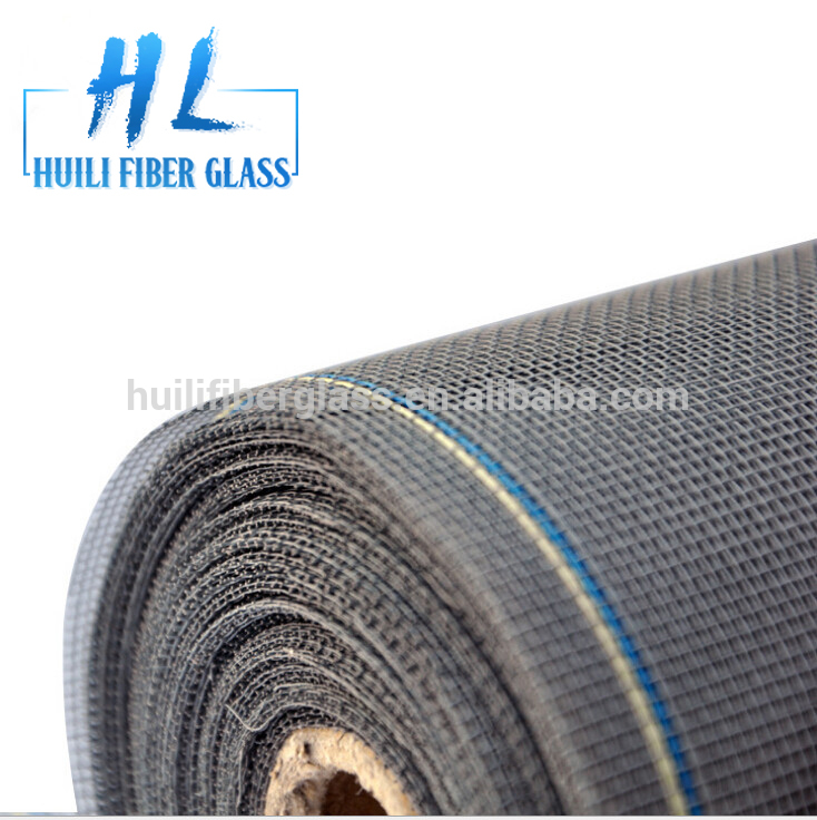 Huili company window mosquito insect screen fiber glass factory 18x16mesh