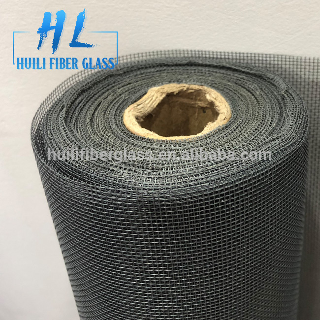 Huili manufacturer of PVC coated fiberglass insect screen fly screen 18*16 120g