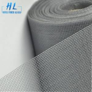 Grey fiberglass PVC Coated Insect Screen Netting