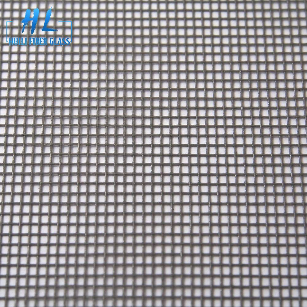 18×16 Grey PVC Coated Fiberglass Window Screen Mesh Featured Image