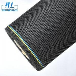 18×16 Mesh PVC Coated Fiberglass Insect Screen Mesh Roll