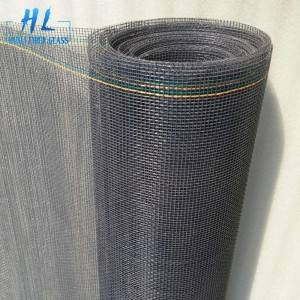 Grey 1.8m x 30m PVC Coated Fiberglass Insect Screen Mesh