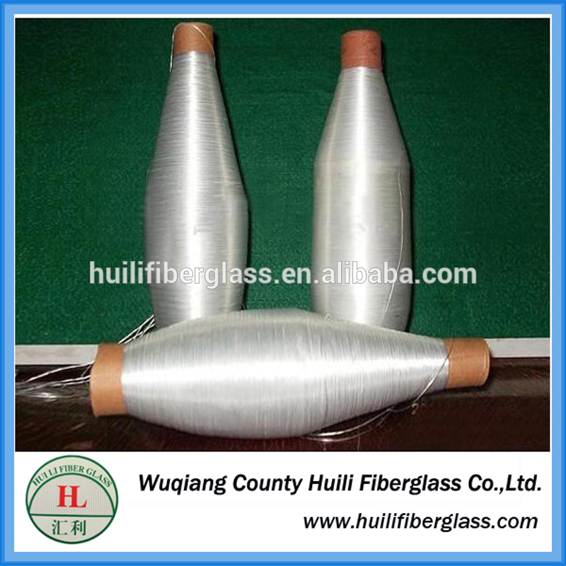 Low Price Twisted Glass Yarn For Weaving Fiberglass Mesh Manufacturers