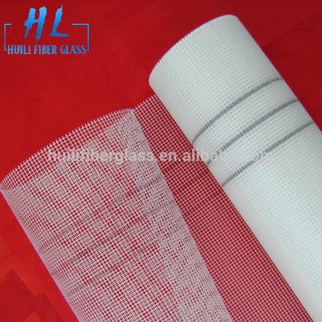 marble smooth surface fiberglass mesh roll from huili factory