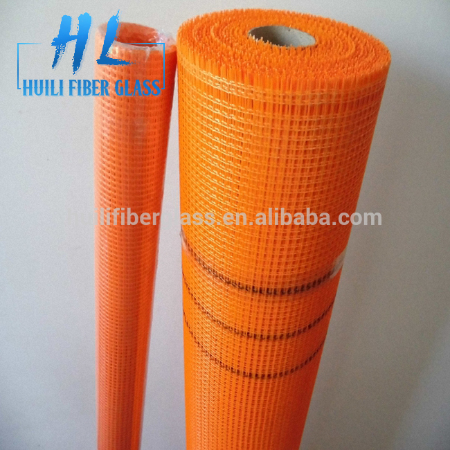 Medium Alkali Content and platinum glass yarn,C-Glass Yarn Type fiberglass wall mesh 145g