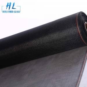 Charcoal PVC Coated Fiberglass Mosquito Screen