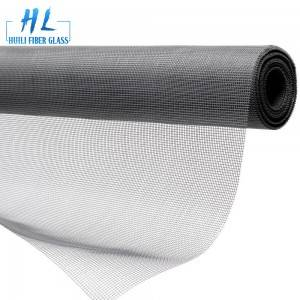 Anti Insect Grey PVC Coated Fiberglass Window Screen