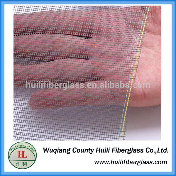 one way vision window screen/fiberglass window screen insect nets by huili factory Featured Image