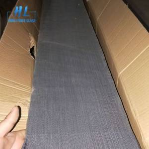 Fiberglass And Polyester Pleated Insect Screen Fabric Yarn Screen
