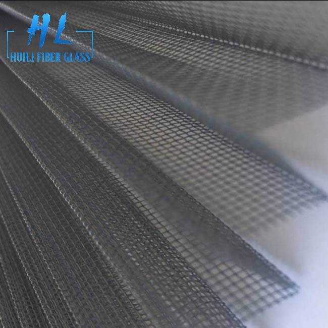 Waterproof Plisse Insect Screen polyester Pleated Mesh Featured Image