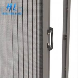 Huili factory polyester mosquito net plisse insect mesh for door