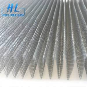 Hot sale different size mosquito screen pleated screen