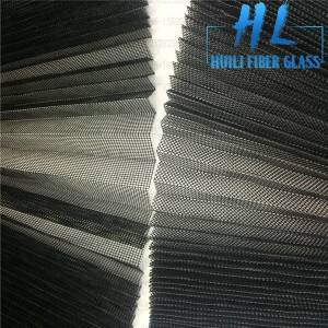 Plisse window screen mesh different color used for window and doors