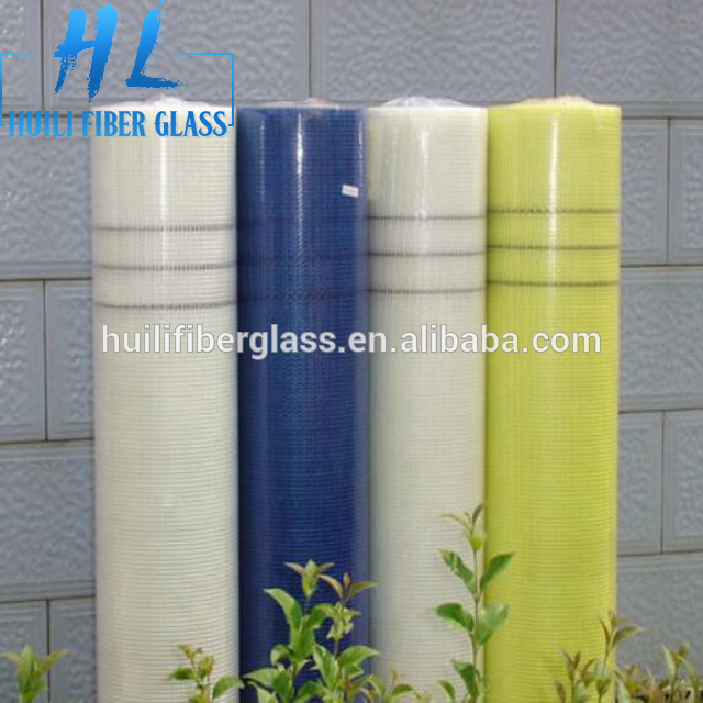price 160g 4x4mm Waterproof fiberglass mesh fiberglass scrim mesh for wall materials to Turkey