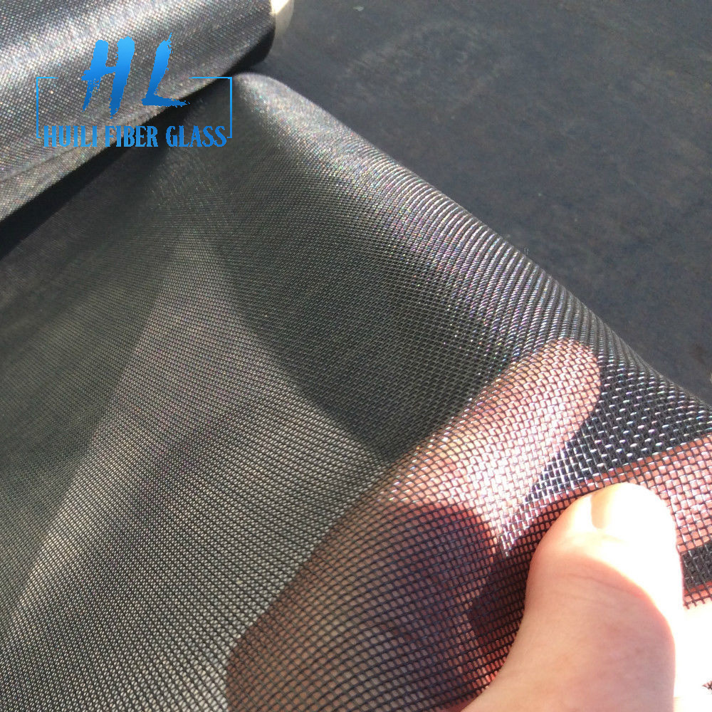 Factory making Silicone Coated Fiberglass Fabric - pvc coated fiberglass insect screen mesh for window screen – Huili fiberglass detail pictures