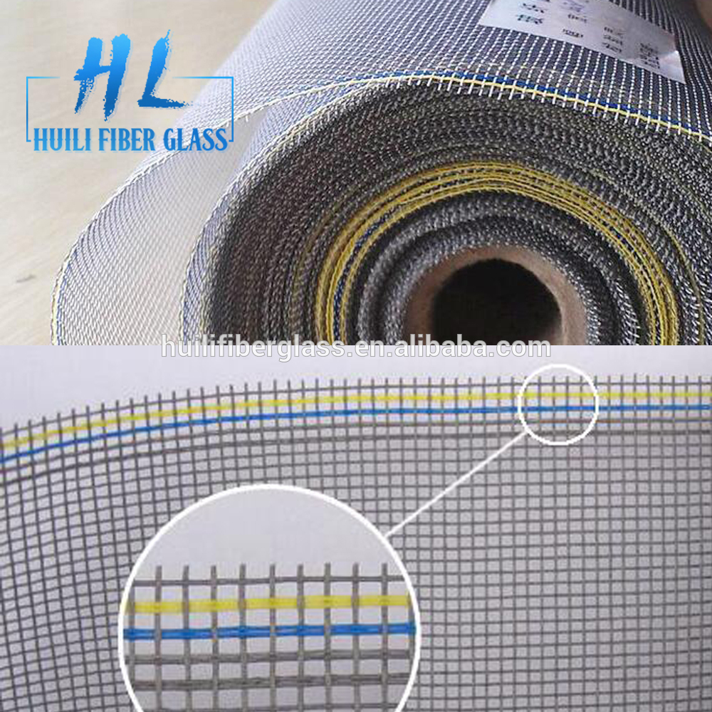 PVC coated fiberglass insect screen net fiberglass fabric