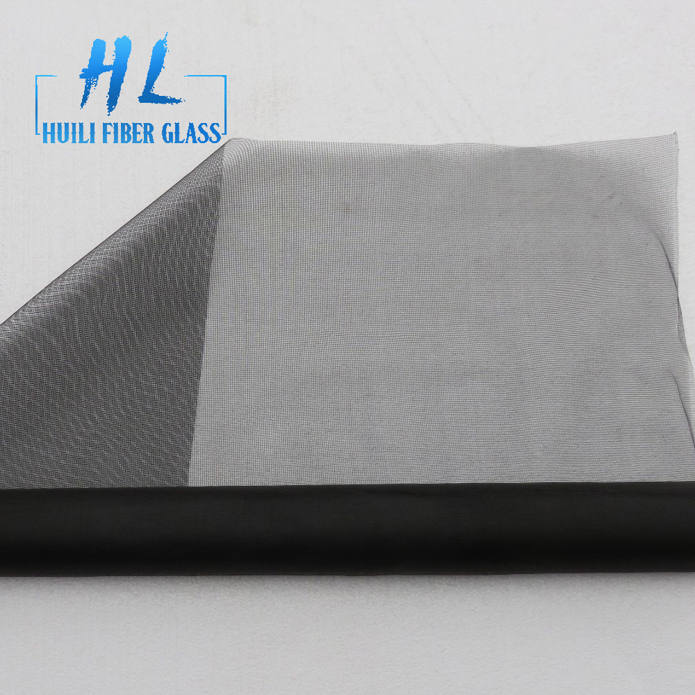 China wholesale Fiberglass Mesh For Waterproofing - pvc coated fiberglass insect screening mesh 18×16 – Huili fiberglass