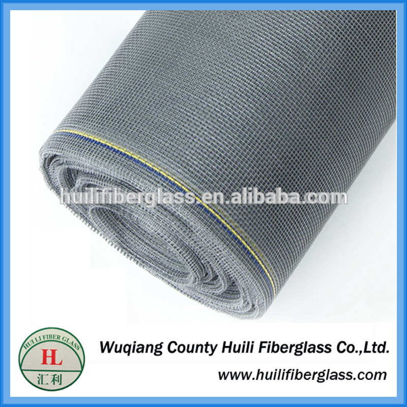 PVC coated fiberglass insect window screen / window screen mesh / mosquito nets 18*16mesh 120g