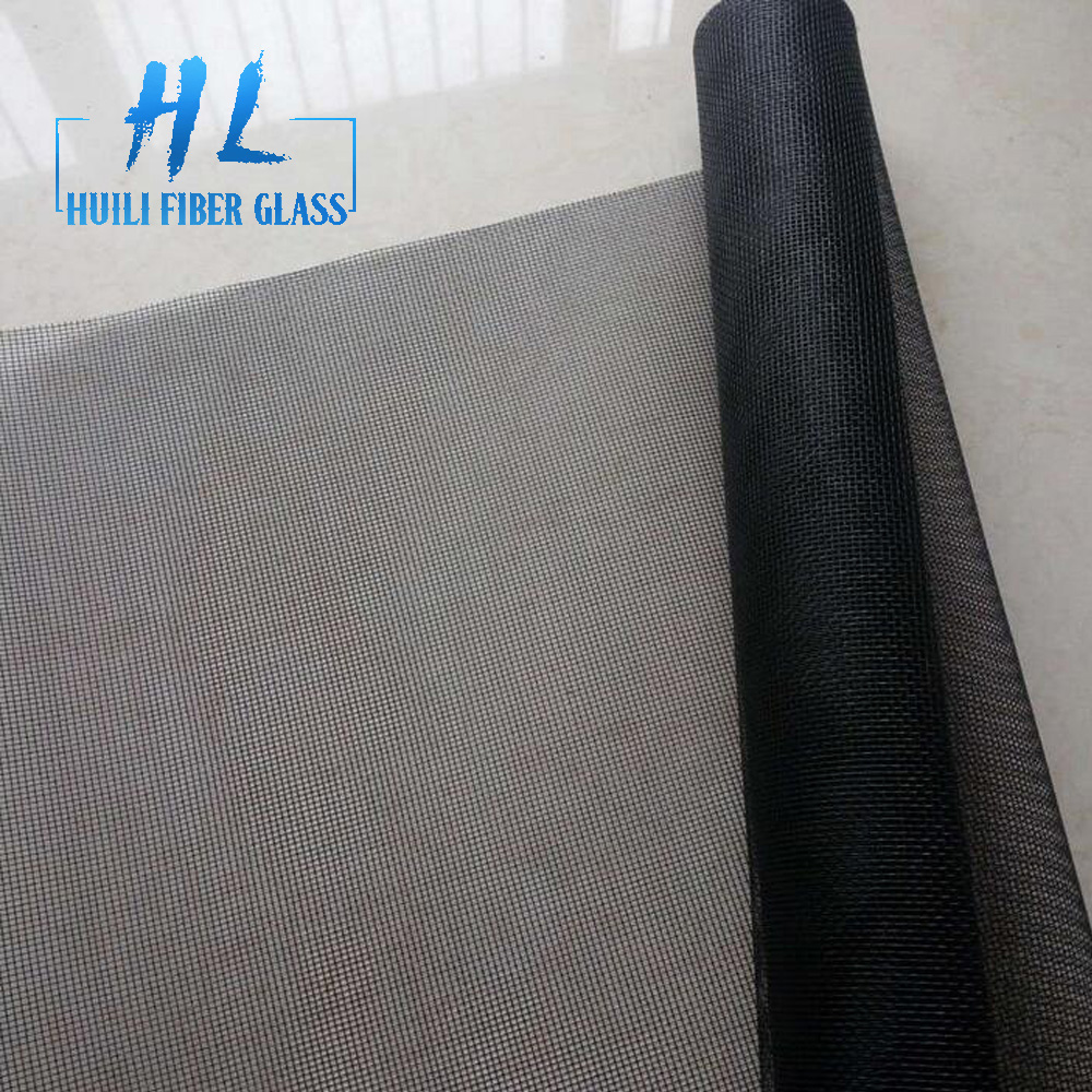 pvc coated fiberglass mesh mosquito fly screen