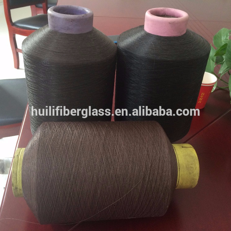 PVC coated fiberglass yarn/PVC Coated Glass Fiber Yarn