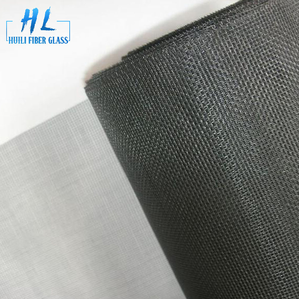 factory low price E-glass Fiberglass Yarn - PVC coated insect mesh fiberglass screen roll for window – Huili fiberglass